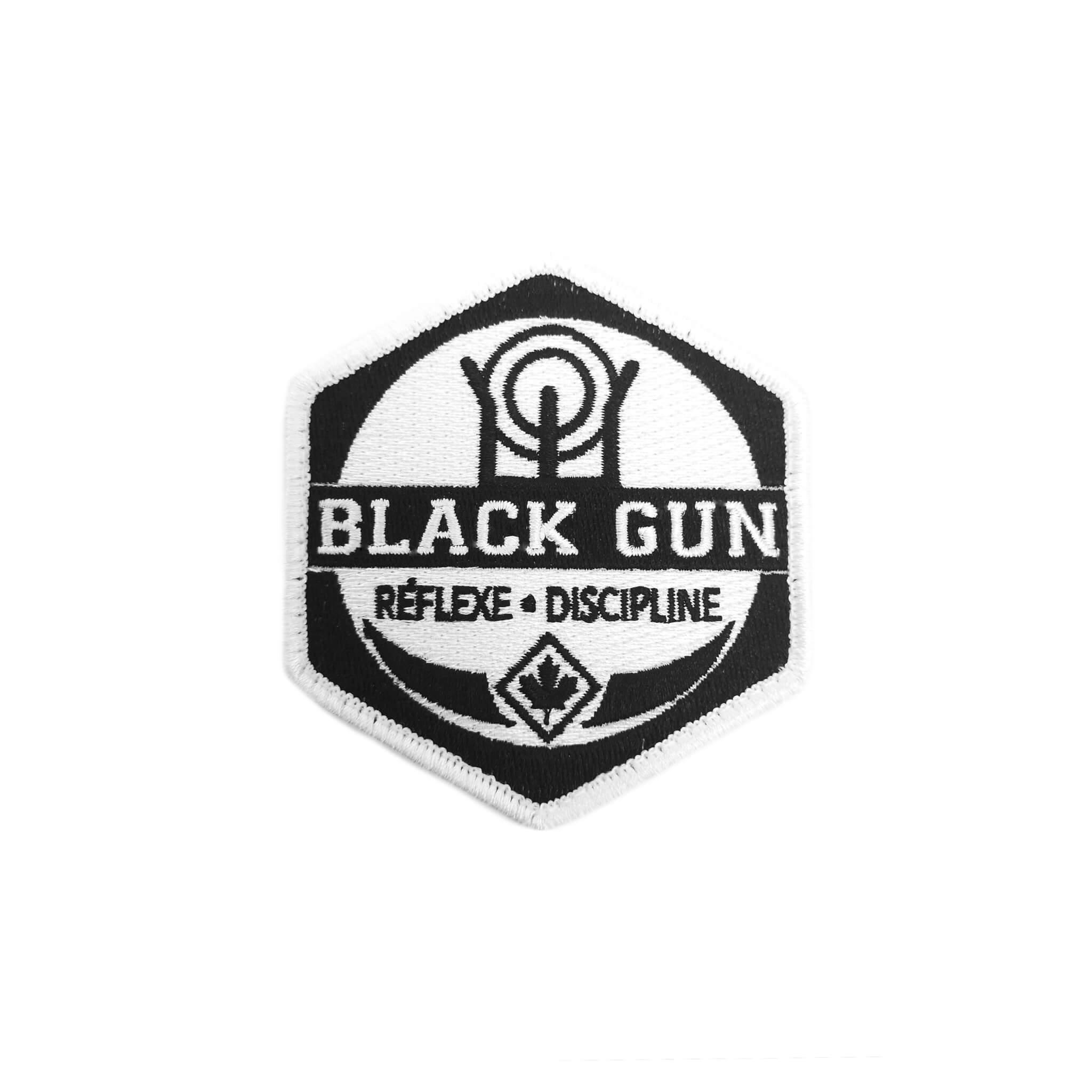 Écusson Black Gun