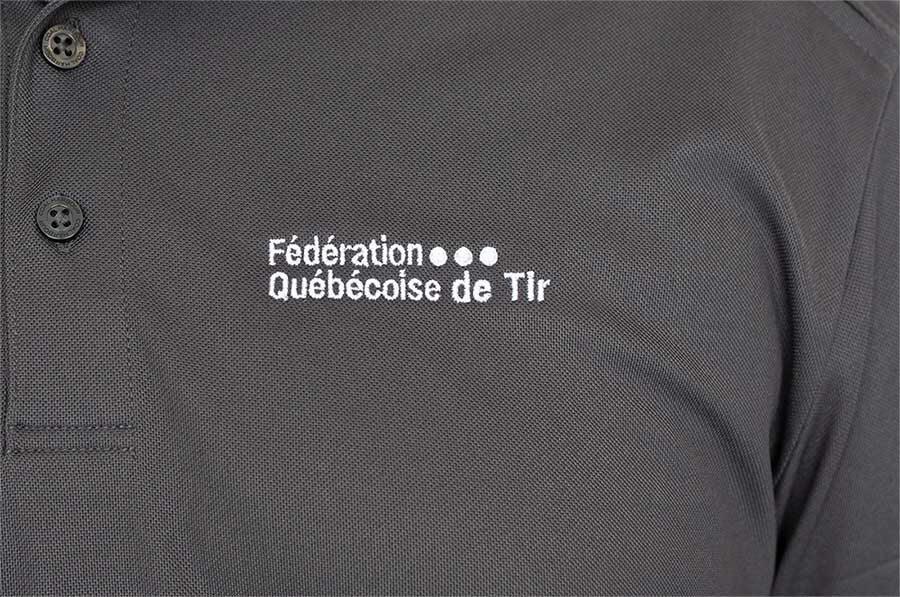 Polo FQT - Logo Brodé